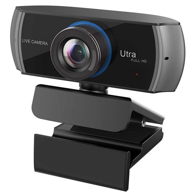 GROWFAST Utra FULL HD ワンルームでも立派なオフィス!在宅ワークのオンライン会議が捗るおすすめのWebカメラ5選