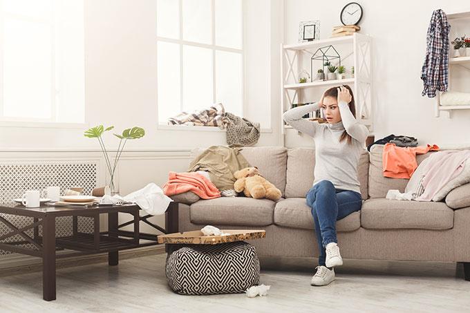 shutterstock 1038773620 一人暮らしの部屋が汚いことで起こる5つの決定的なデメリット