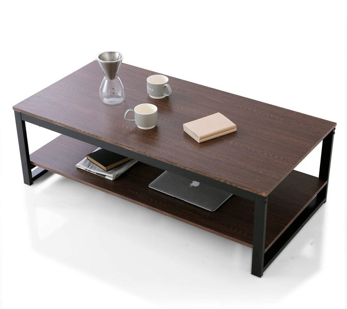 302d704b71b1e14815918884b7753a65 ワンルームにはローテーブルがおすすめ!お部屋が広く見えるコンパクトなローテーブル7選