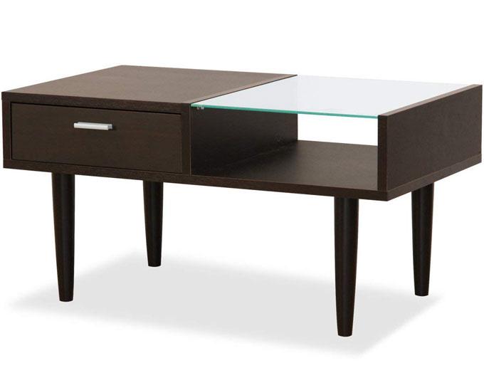 MODERN DRAWER TABLE ワンルームにはローテーブルがおすすめ!お部屋が広く見えるコンパクトなローテーブル7選